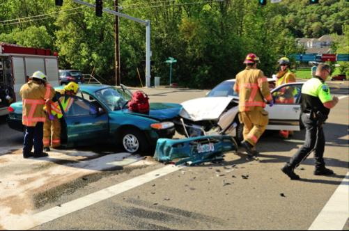 Los accidentes automovilísticos