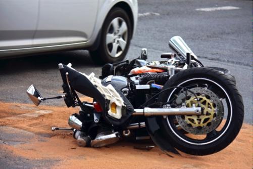 Accidente de la motocicleta